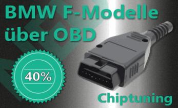 Chiptuning BMW F-Modelle über OBD